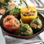 Légumes farcis à la viande hachée